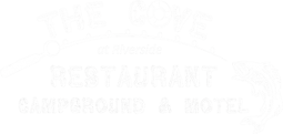 the cove white logo